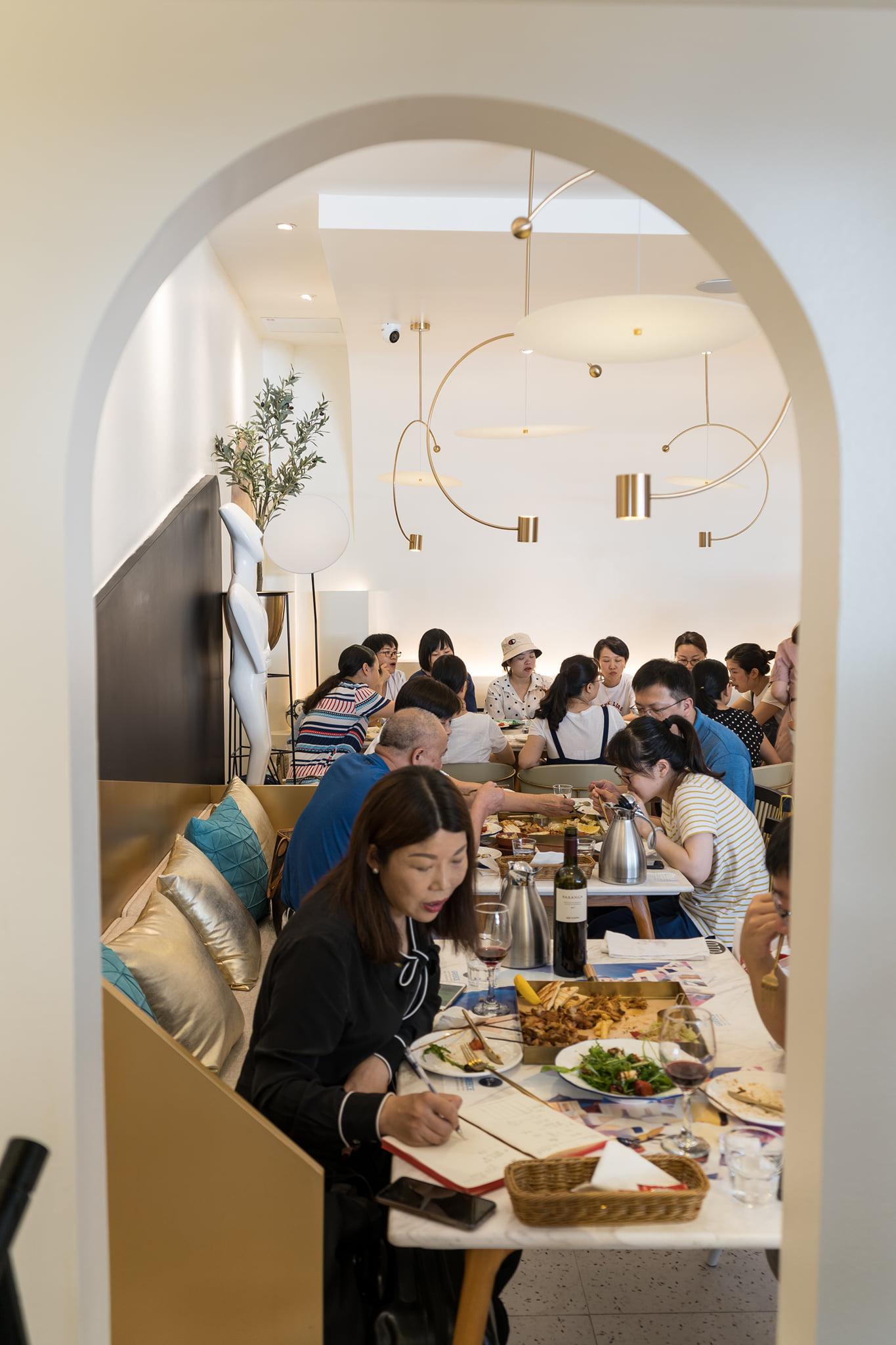 Golden Olives εστιατόριο στην Κίνα