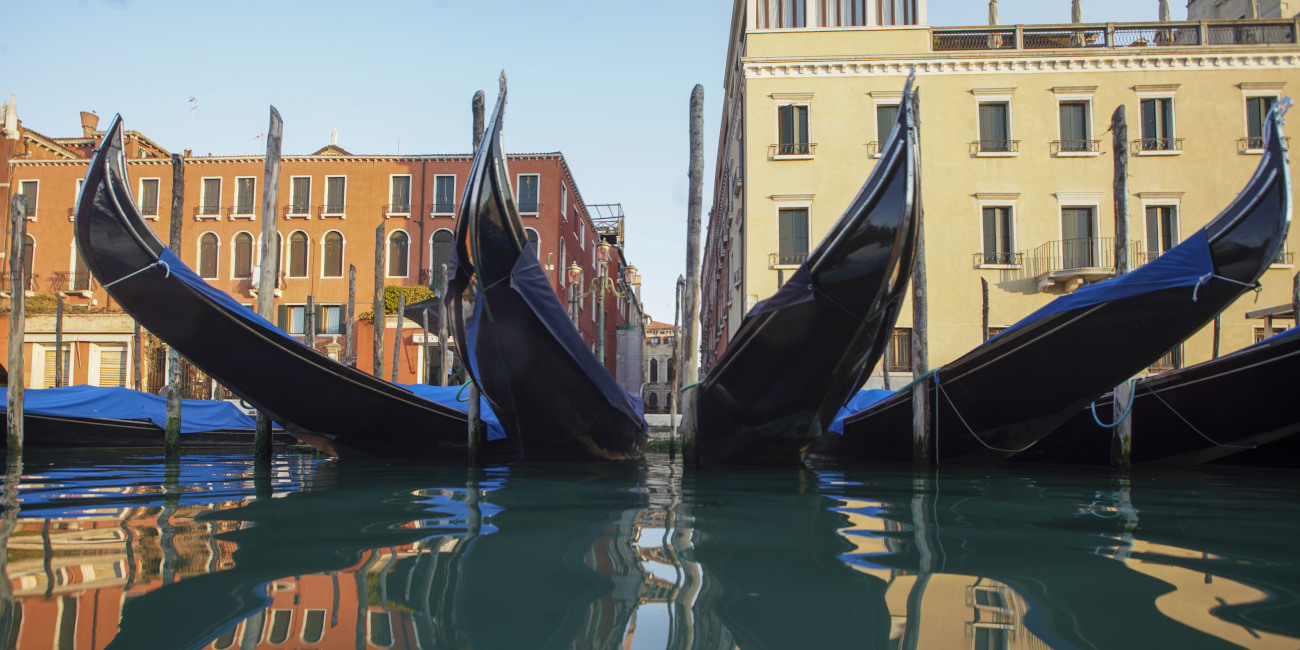 Τα νερά της Βενετίας είναι πλέον καθαρά
