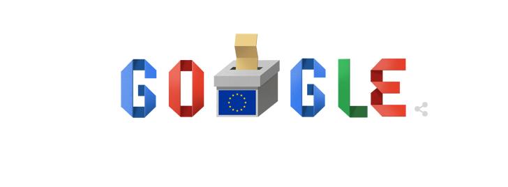 Το doodle της Google για τις ευρωεκλογές