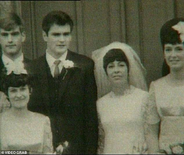 Ο Γκόρντον και η Κάρολ Παρκ την ημέρα του γάμου τους το 1967