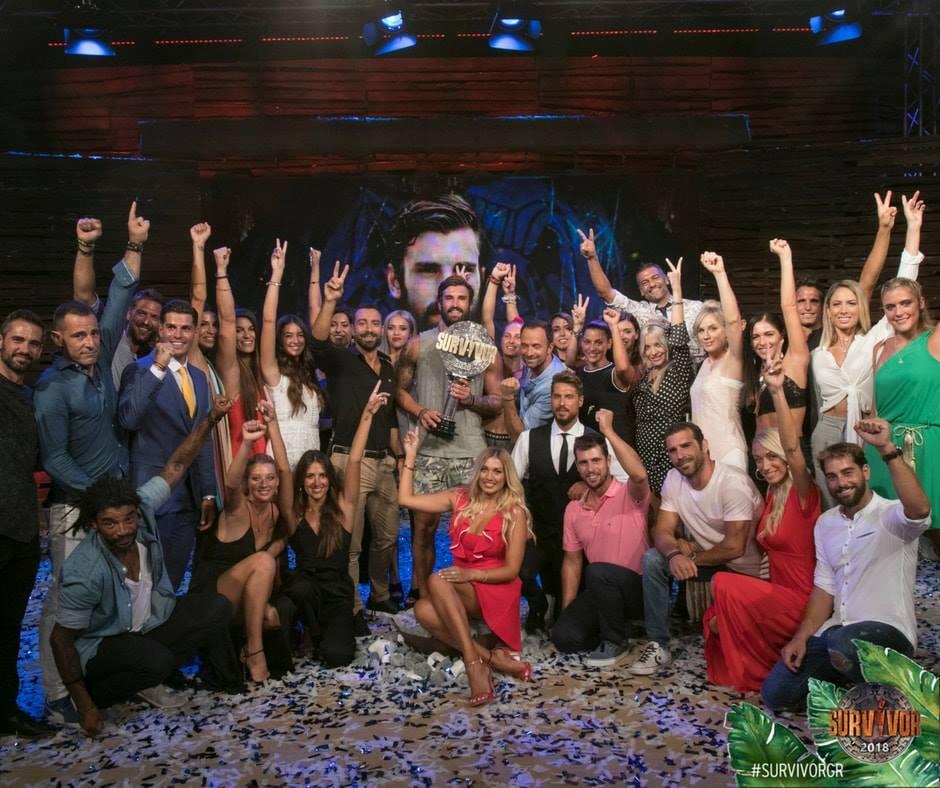 Ο τελικός του Survivor 2, στο οποίο αναδείχτηκε νικητής ο Ηλίας Γκότσης