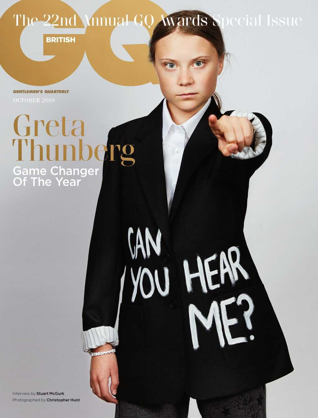 Το πρόσωπο στο εξώφυλλο του GQ Βρετανίας Οκτωβρίου