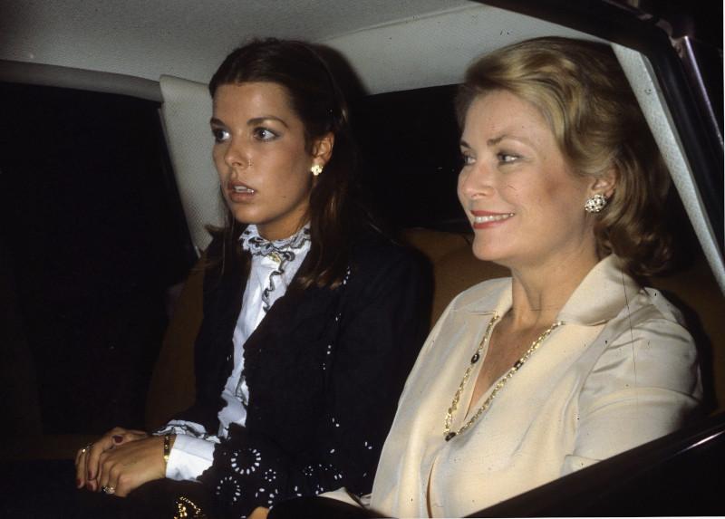 Η Γκρέις Κέλι με την κόρη της Καρολίνα του Μονακό