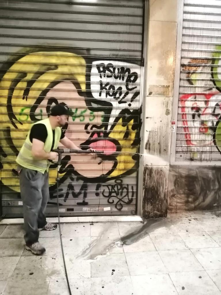 καθαρισμος γκραφιτι