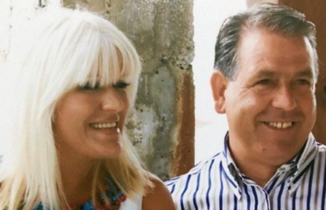 Ο Δημήτρης Γραικός με την σύζυγό του, Δέσποινα