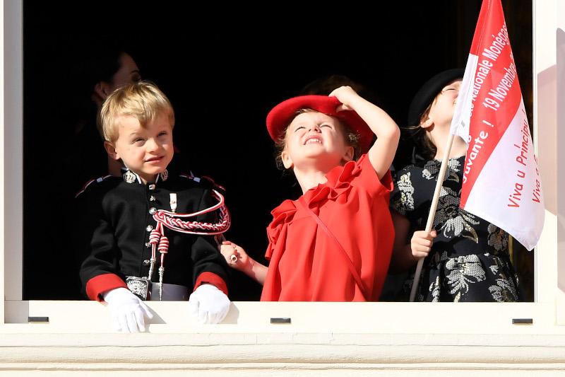 Τα δίδυμα πρίγκιπας Ζακ και πριγκίπισσα Γκαμπριέλα του Μονακό