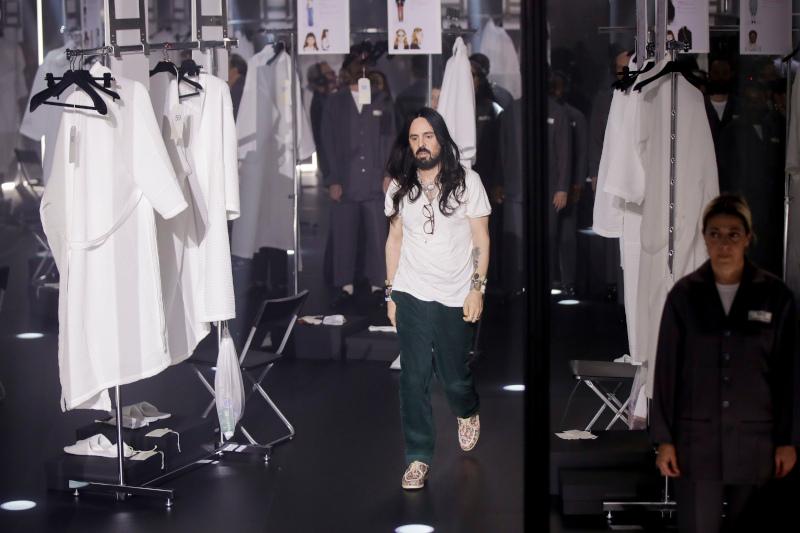 Ο καλλιτεχνικός διευθυντής της Gucci, Αλεσάντρο Μικέλε