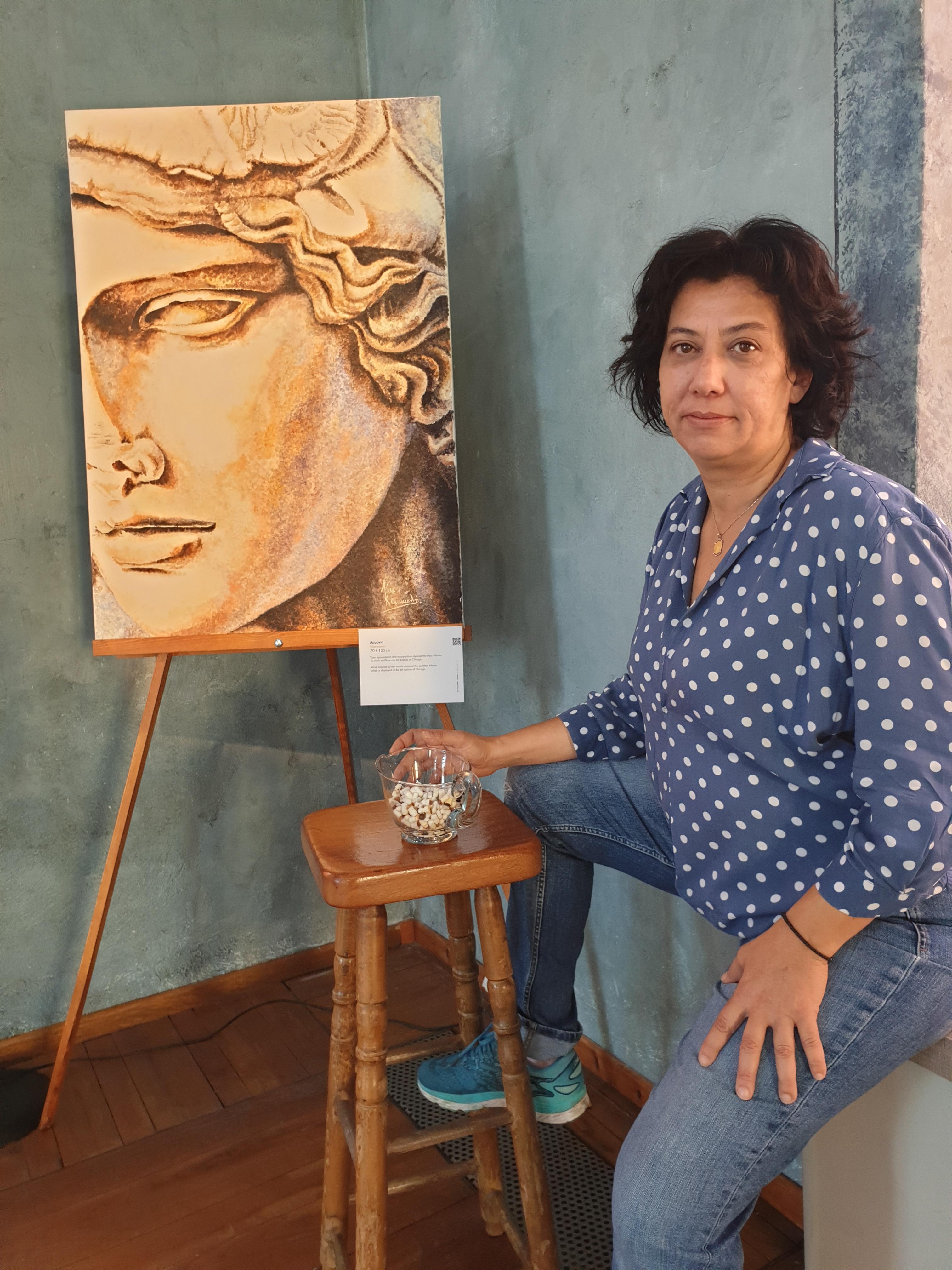 πινακας αλέξανδρος γυναίκα ζωγράφος