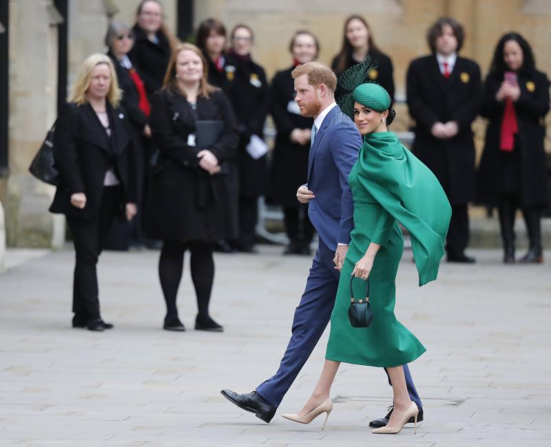 Η τελευταία βασιλική εμφάνιση του πρίγκιπα Χάρι και της Μέγκαν Μαρκλ