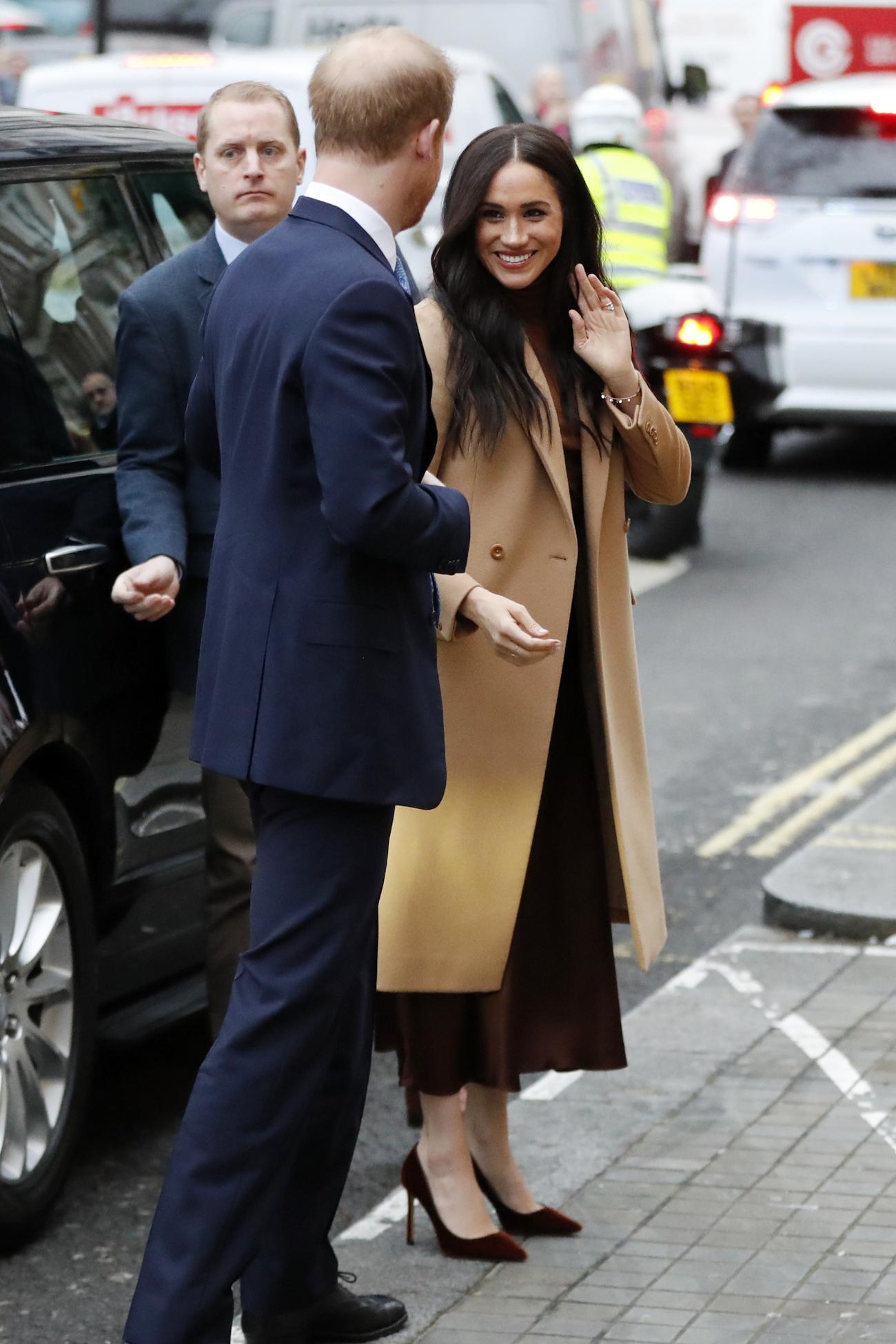 Πρόκειται για την πρώτη εμφάνιση του Πρίγκιπα Χάρι και της Μέγκαν Μαρκλ για το 2020