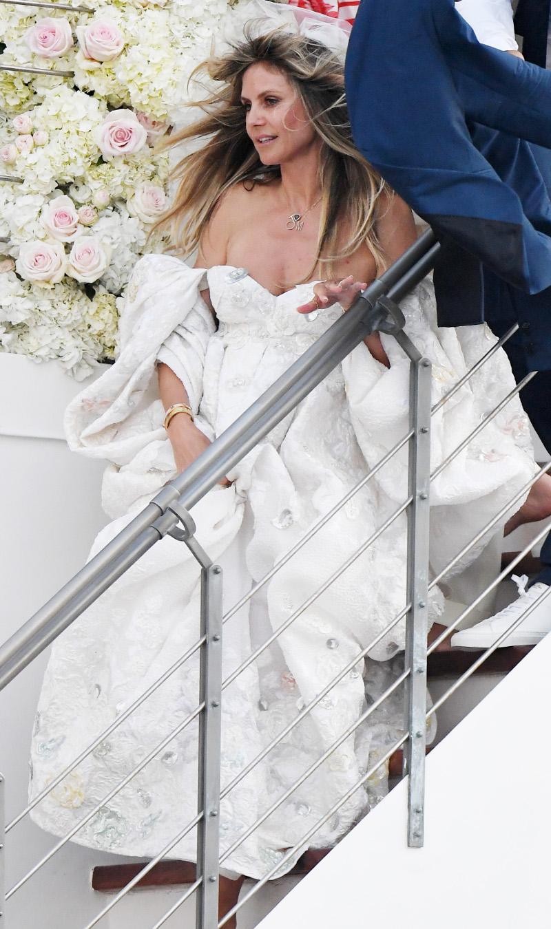 Η Χάιντι Κλουμ νύφη.