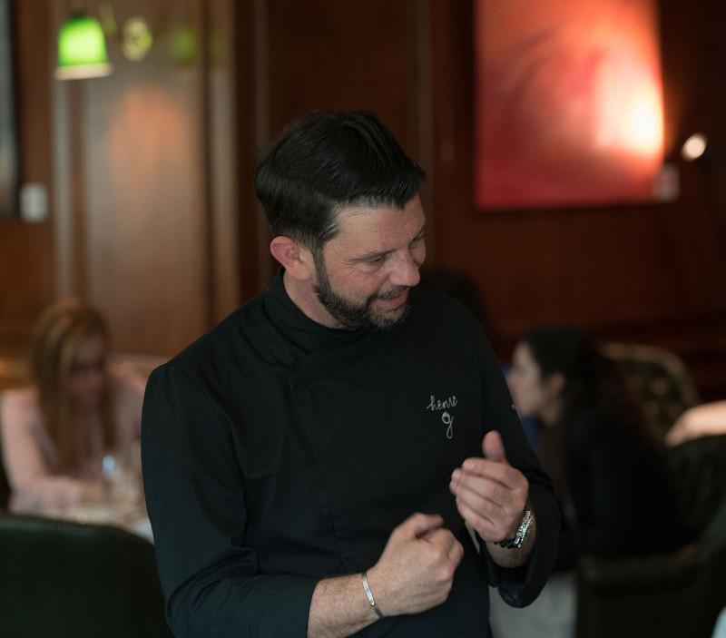 Ο σεφ Henri Guibert