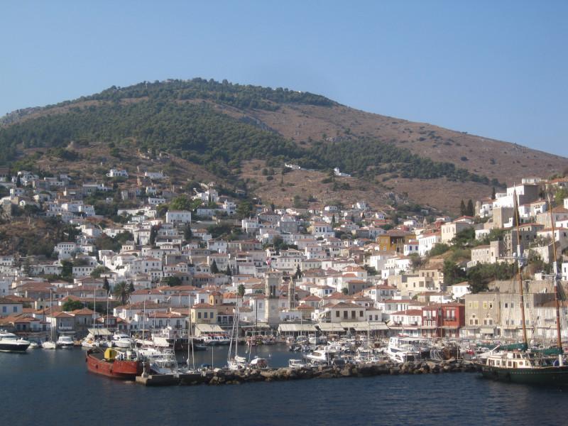 Άποψη του νησιού της ύΔΡΑς