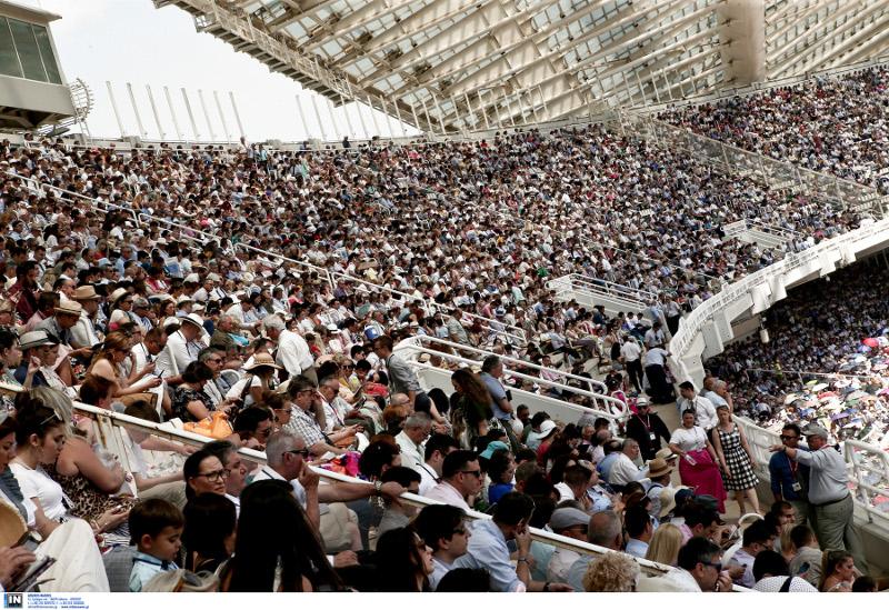 Χιλιάδες πιστοί στο ΟΑΚΑ / Φωτογραφία: INTIME NEWS
