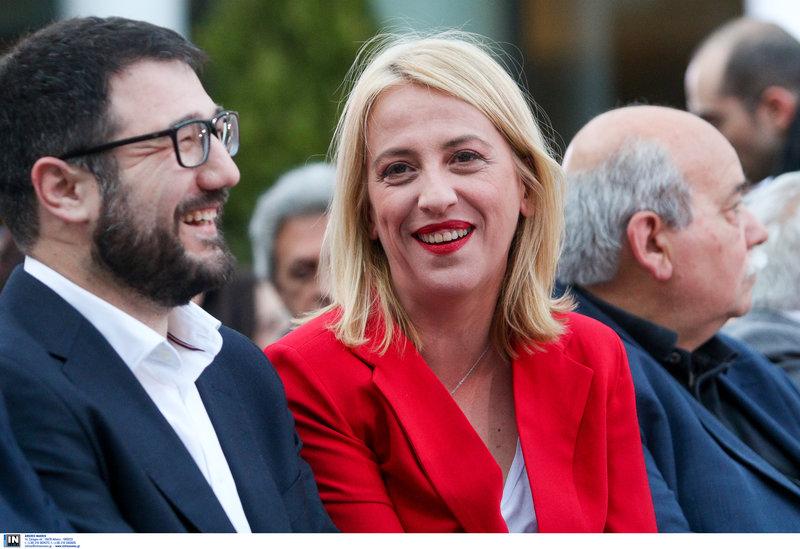 Νάσος Ηλιόπουλος και Ρένα Δούρου