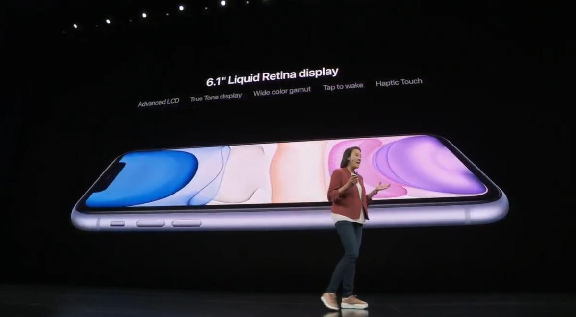 Ο Τιμ Κουκ παρουσίασε στο κοινό της Apple τα νέα iPhones 11, iPhone 11 Pro και 11 Pro Max.