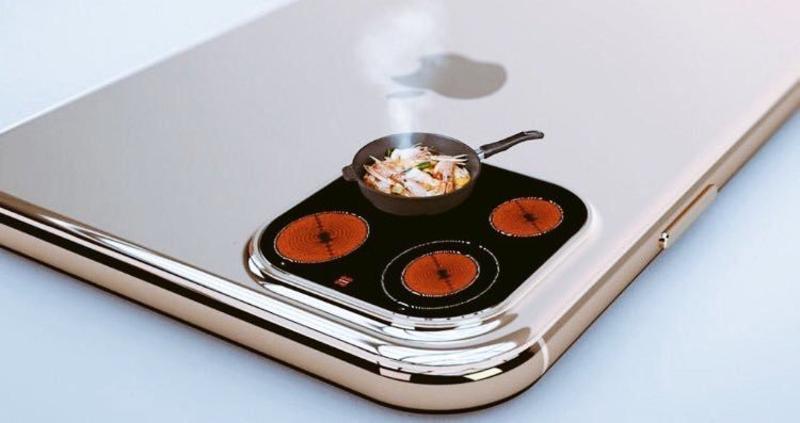 Η κάμερα του iPhone ως μάτια κουζίνας