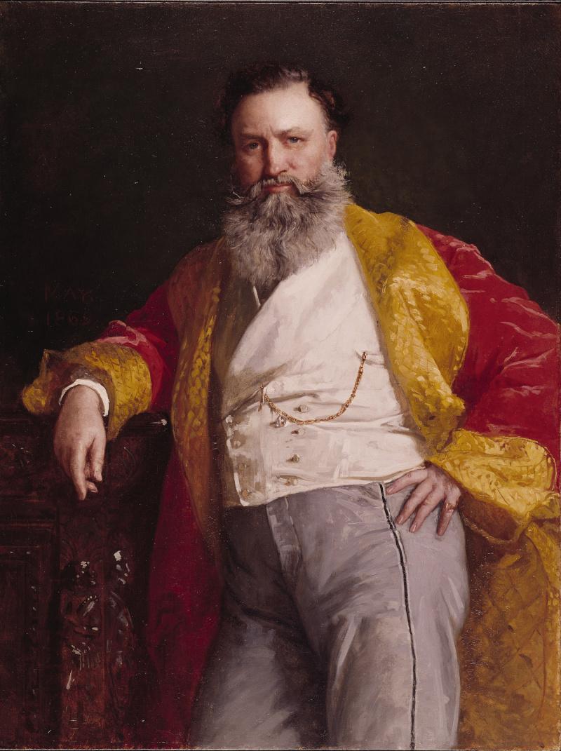 Ο Isaac Merritt Singer, ο εφευρέτης της διάσημης ραπτομηχανής/Φωτογραφία: Wikipedia