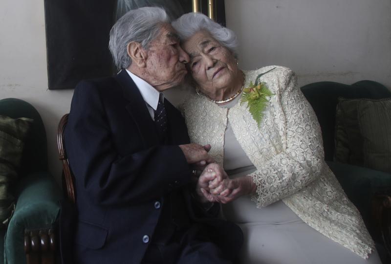 Το ζευγάρι από τον Ισημερινό που συμπλήρωσε 79 χρόνια έγγαμου βίου