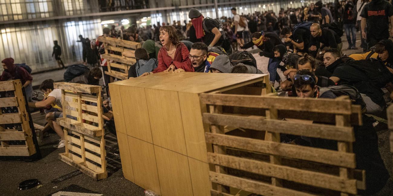 Βαρκελώνη συγκρούσεις