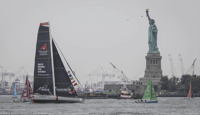 Το ιστιοφόρο της Γκρέτα Τούνμπεργκ έφτασε στη Νέα Υόρκη