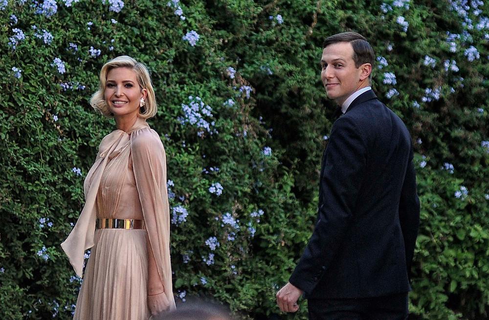 Και η Ιβάνκα Τραμπ με αέρα Χόλιγουντ στον λαμπερό γάμο της Misha Nonoo