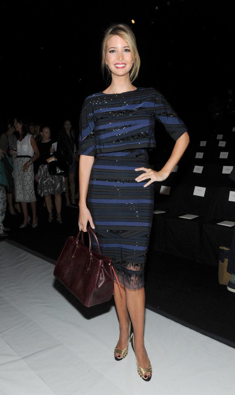 Ιβάνκα Τραμπ επίδειξη μόδας Carolina Herrera