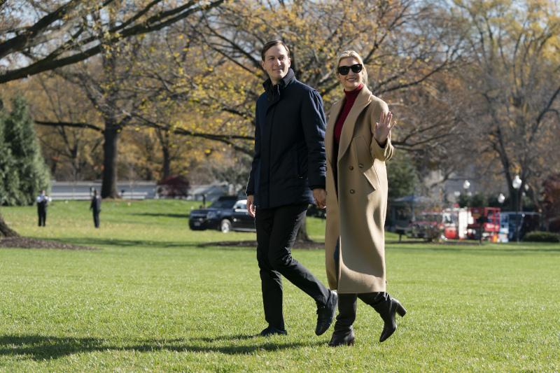 Η Ιβάνκα Τραμπ με τον σύζυγό της Τζάρεντ Κούσνερ