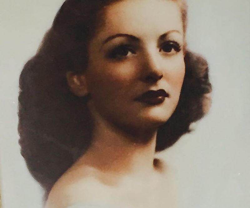 Η μητέρα του Σιλβέστερ Σταλόνε όταν ήταν νέα