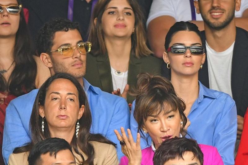 Η Κένταλ Τζένερ στον τελικό του Γουΐμπλεντον / Φωτογραφία: gettyimages.com