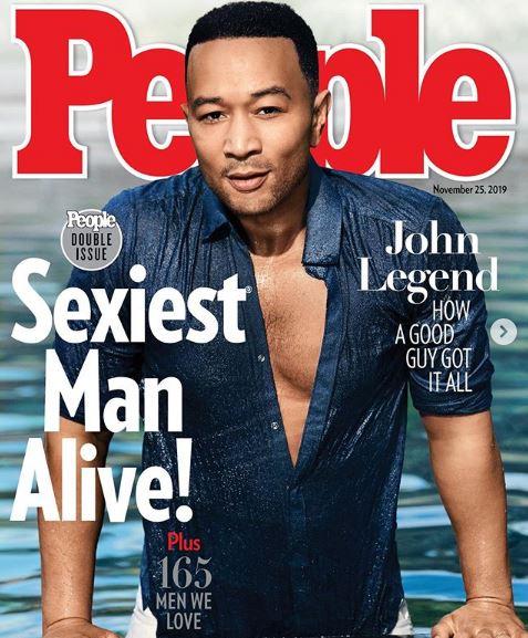 Το εξώφυλλο του περιοδικού People με τον πιο σέξι άνδρα του κόσμου