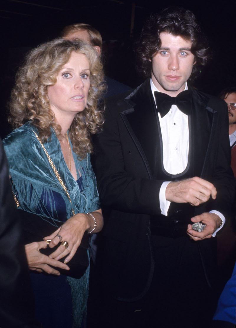 Ο Τζον Τραβόλτα με την σύντροφό του Νταϊάνα Χάιλαντ που πέθανε επίσης από καρκίνο του μαστού
