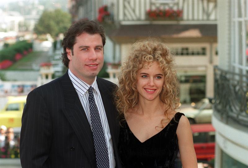 Ο Τζον Τραβόλτα νιόπαντρος με την σύζυγό του Κέλι Πρέστον