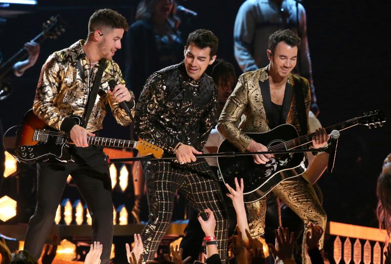Οι Jonas Brothers στην σκηνή των Grammy 2020
