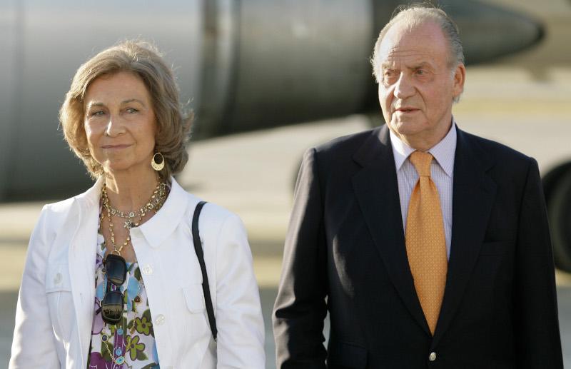Ο Χουάν Κάρλος με την σύζυγό του, βασίλισσα Σοφία