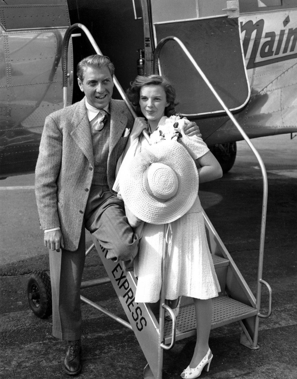 Η Τζούντι Γκάρλαντ και ο πρώτος της σύζυγος Ντέιβιντ Ρόουζ