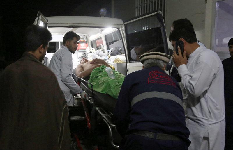 «Ανάμεσα στα θύματα υπάρχουν γυναίκες και παιδιά», διευκρίνισε ο εκπρόσωπος του υπουργείου Εσωτερικών Νασράτ Ραχίμι.