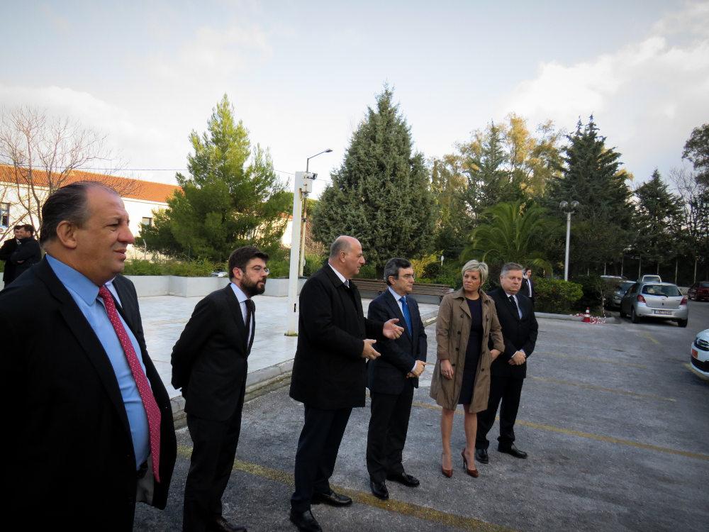 Ο υπουργός Δικαιοσύνης Κώστας Τσιάρας και ο προκάτοχός του στο υπουργείο επί ΣΥΡΙΖΑ, ο Μιχάλης Καλογήρου