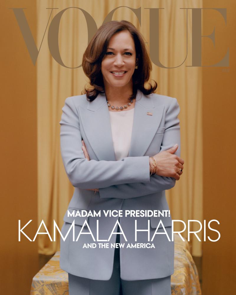 Η ομάδα της Καμάλα Χάρις πίστευε πως αυτό θα ήταν το εξώφυλλο της Vogue Φεβρουαρίου