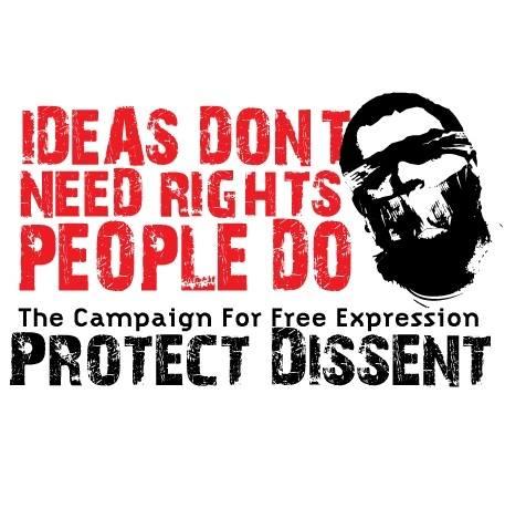 Οι ιδέες δεν έχουν ανάγκη από δικαιώματα, οι άνθρωποι έχουν σημειώνουν οι υποστηρικτές της ημέρας βλασφημίας