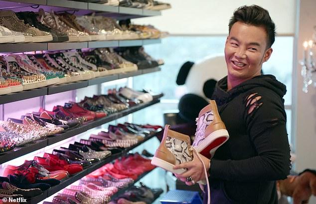 Ο Kane Lim με την τεράστια και πανάκριβη συλλογή του από παπούτσια