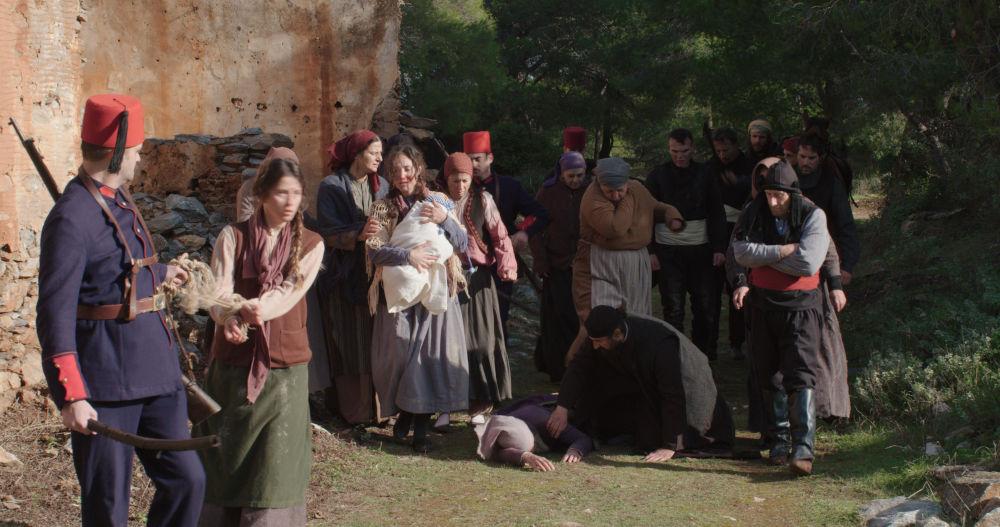 Το καραβάνι των Ελλήνων υπομένει βασανιστήρια από τους Τούρκους στη σειρά «Το Κόκκινο Ποτάμι»