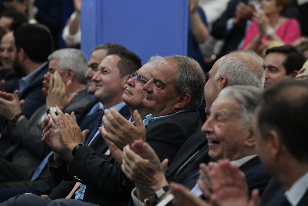 Στις πρώτες θέσεις βρέθηκαν ιστορικά στελέχη του κόμματος όπως ο Ιωάννης Βαρβιτσιώτης, αλλά και οι πρώην πρόεδροι Ευάγγελος Μεϊμαράκης και Κώστας Καραμανλής