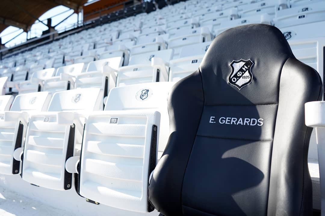 Η μόνιμη θέση του Ευγένιου Γκέραρντ στο γήπεδο του ΟΦΗ