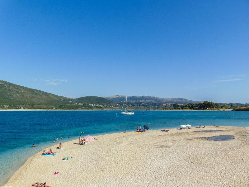 Η πανέμορφη παραλία Κάστρο της Λευκάδας