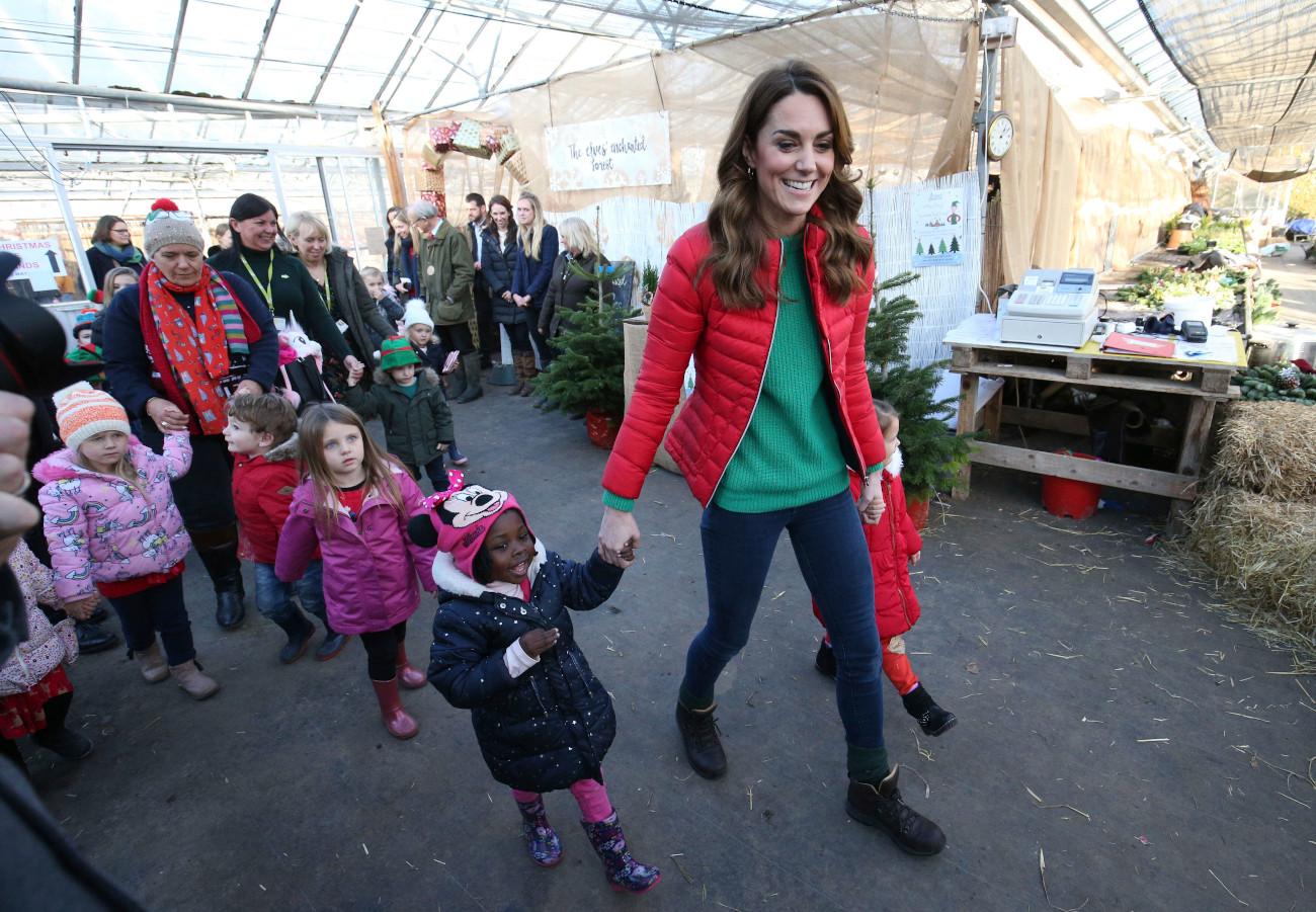 Η Κέιτ Μίντλετον πέρασε αρκετή ώρα μαζί με τα παιδιά