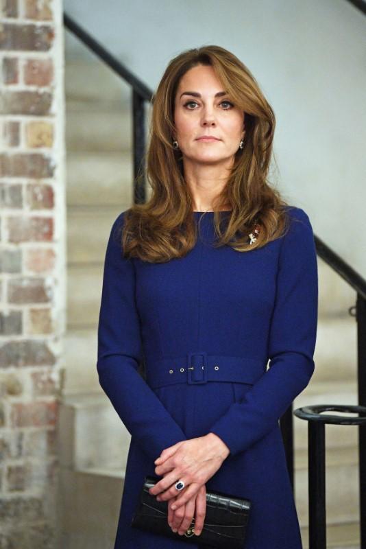 Η Κέιτ Μίντλετον φόρεσε ξανά τα ζαφειρένια της πριγκίπισσας Νταιάνα