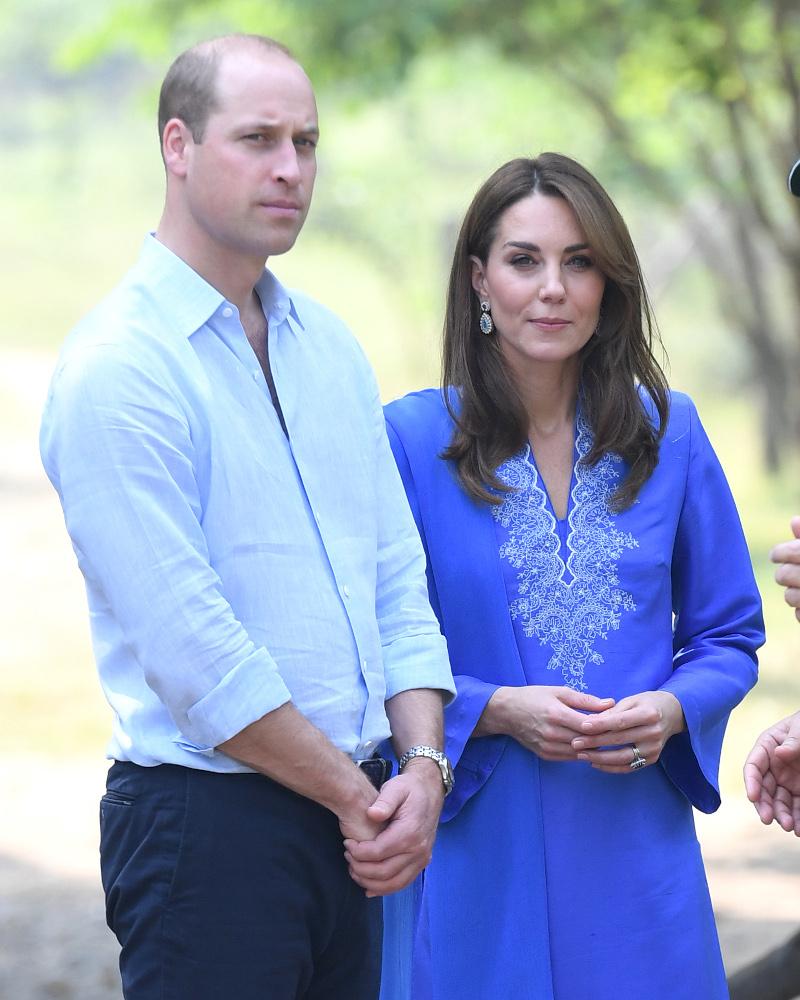 Πρίγκιπας Γουίλιαμ και Κέιτ Μίντλετον στα μπλε