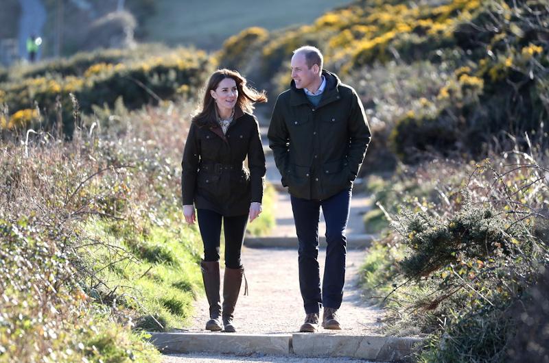 Κέιτ Μίντλετον και πρίγκιπας Γουίλιαμ απόλαυσαν μια ρομαντική βόλτα