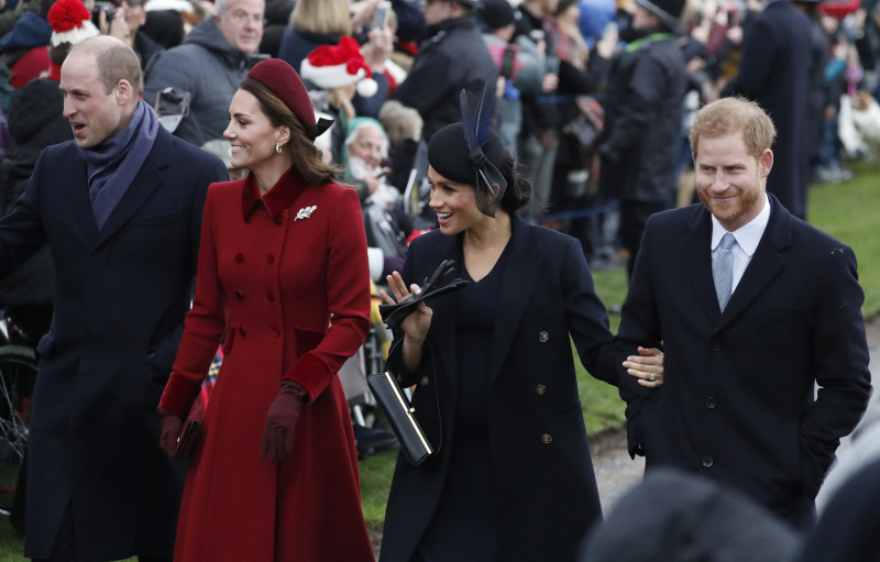 Kate Middleton, Prince William, Prince Harry και Megan Markle